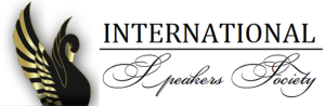 Black Swan and International Speakers Society Logo