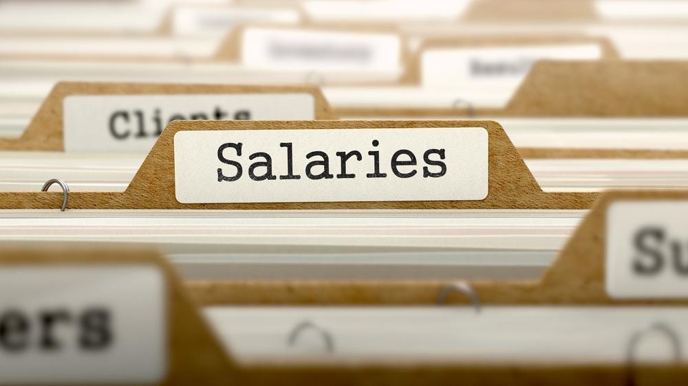 Salaries Concept. Word on Folder Register of Card Index. Selective Focus..jpeg